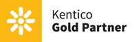 Kentico Gold Partner logo
